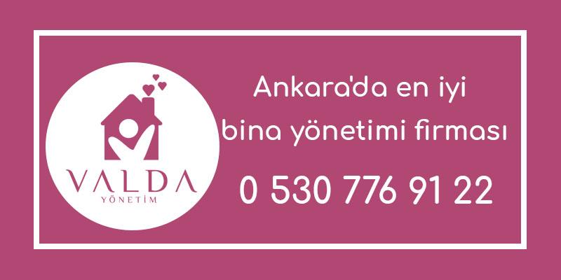 Ankara'da en iyi bina yönetimi