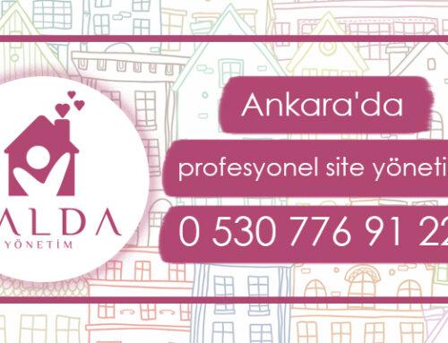 Ankara site yönetimi